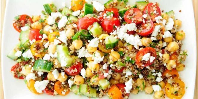 vegetarian quinoa salad