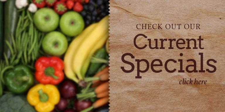 The Market Current Specials